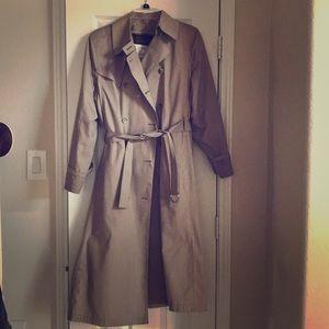 London Fog Vintage raincoat with liner